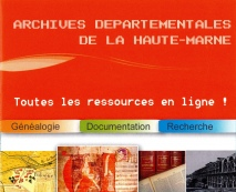 ARCHIVES DEPARTEMENTALES